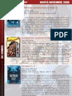 Novità fumetti Italia Novembre 2009