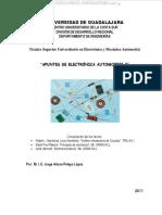 Manual Electronica Automotriz Componentes Corriente Electrica Magnitudes Circuitos Resistencias Capacitores Bobinas