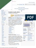 Audacity (Audio Editor) - Wikipedia