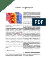 Membrana Semipermeable