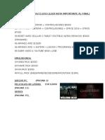 Lista Juegos Pc