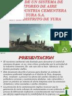 diseño de un sistema de monitoreo de aire en Yura