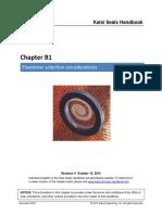 B01 Elastomer Selection Considerations