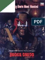 Judge Dredd Mega-City One's Most Wanted