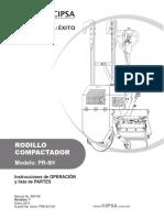 Manual de Operacion y Partes Pr8a Rev7