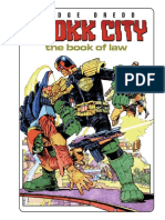 Judge Dredd Drokk City - The Book of Law