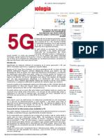 5G_ ¿Qué Es, Cómo Es y Porqué Es