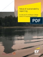 EY Value of Sustainability Reporting
