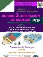 Unidad 3 Logistica y Cadena de Suministro