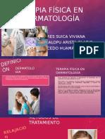 Terapia Física en Dermatología