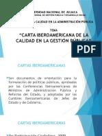 Carta Iberoamericana GP