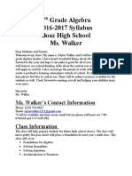 syllabus mswalker