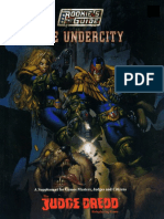 Judge Dredd the Rookie's Guide to the Undercity