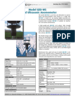 Biaxial Anemometer