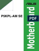 Asus p5kpl Am Se Users Manual 236977