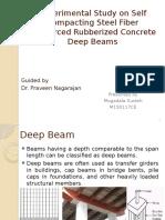 Experimental Study on Self Compacting Steel Fiber Reinforced