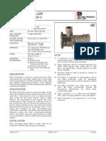 Rotameter Datasheet