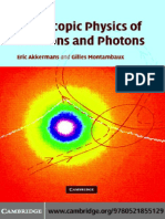 Akkermans E., Montambaux G. Mesoscopic Physics of Electrons and Photons (CUP, 2007)(ISBN 0521855128)(608s)_PS