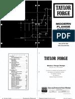 Steel Flange Design Calculation