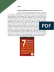 Resumen de Lectura.los 7 Habitos... Nancy Yasmin Valenzuela Escobar