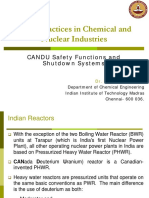 CANDU Safety Function and Shutdown Systems