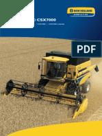 New Holland CSX7000 Manual