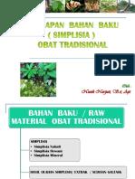 12.Bahan Baku Ot - 1- Simplisia