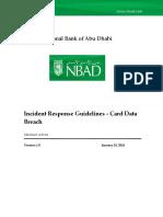 Merchant Incident Handling Card Data Breach