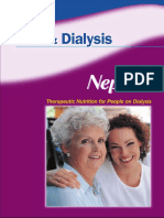 Diet and Dialysis
