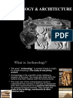 Archaeology & Architecture