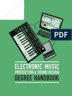 Berklee Online Electronic Music Production Degree Major Handbook