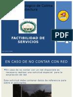 Factibilidad de Servicios CFE