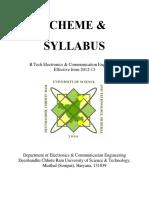 B.tech . Syllabus Oct 2016 2