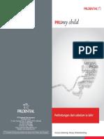 Asuransi Prudential PRUmy child