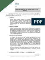BasesDel VIII PremioMalagaDeNovela