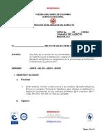 Directiva de Blindados ejercito nacional de colombia
