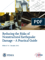 FEMA E-74 Reducing the Risks of Nonstructural Earthquake Damage