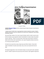 2. George Patton Tentang Kepemimpinan