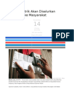 Subsidi Listrik Akan Disalurkan Langsung Ke Masyarakat_14112016