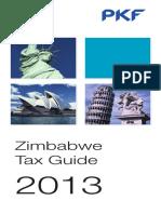Zimbabwe Pkf Tax Guide 2013