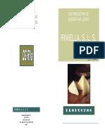 Catálogo Rimella SLS