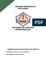 Final Proy. Fabricacion de Repuestos Electricos