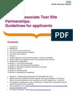 Nursing Associate Test Sites