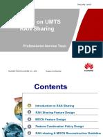 Training Silder UMTS RAN Sharing (RAN17.1)