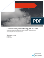 Northstream Connectivity Technologies for IoT Full Report 1
