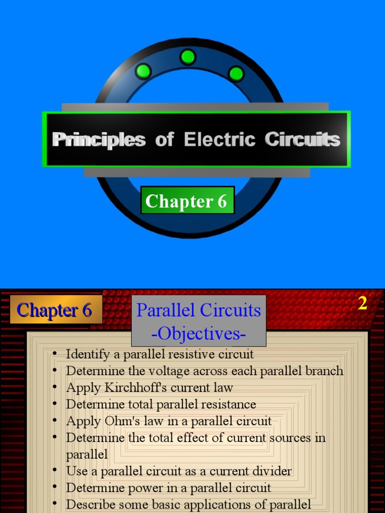 Chapter 6 Circuit 1 Series And Parallel Circuits Electrical Network Resistance