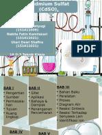 Kadmium Sulfat (CdSO4)