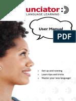 Pronunciator Manual En