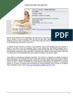 """FICHA DE INTERPRETAÇÃO E ANÁLISE DO FILME """"MAR ADENTRO"""