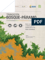 Transicion Bosque Páramo Identificacion